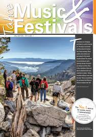 Hangtown Halloween Ball Lineup by Tahoe Music U0026 Festivals Fall 2016 By The Tahoe Weekly Issuu