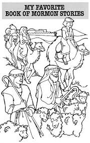 Book Of Mormon Coloring Pages 20 25 Best Ideas About Lds On Pinterest