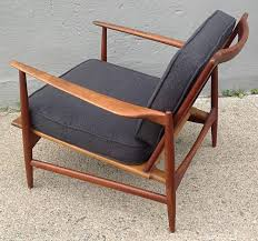 Kofod Larsen Selig Lounge Chair by Ib Kofod Larsen For Selig Teak Lounge Chair For Sale At 1stdibs