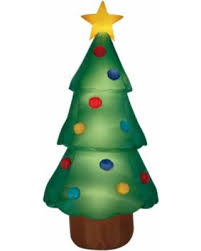 Airblown Inflatable Christmas Tree Giant 10ft Tall By Gemmy Industries
