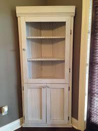 Elegant Corner Cabinet Dining Room Hutch Pantry Versatile Regarding