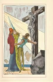 Illustration By Salvador Dali For The 1948 Edition Of Autobiography Benvenuto Cellini