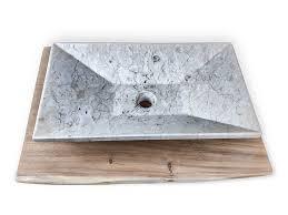 marmor waschbecken 60cm naturstein waschschale waschplatz gäste wc badezimmer rbs1125