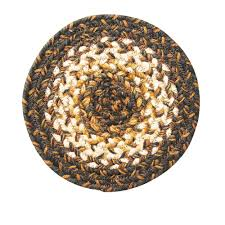 Homespice Decor Jute Rugs by Round Braided Rugs Ambient Round Woven Rugs