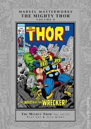 Marvel Masterworks Thor HC 2003 Present 8 1ST