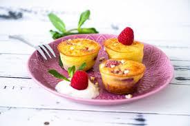 low carb himbeer joghurt muffins