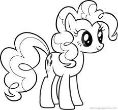 Printable Pictures My Little Pony Coloring Pages Pinkie Pie 79 About Remodel Seasonal Colouring With