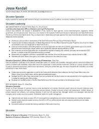 Sample Educator Resume Physical Education Teacher Cover Primary School