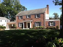Brick Colonial House