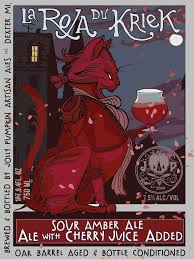Jolly Pumpkin Artisan Ales by La Roja Du Kriek Jolly Pumpkin Artisan Ales Sour Amber Ale The