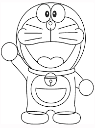 Doraemon Coloring Pages For Boys And Girls
