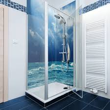 Diamondback Sea Yachts Printed Acrylic Shower Panel Bathroom Ideas Decor Architectural Design Magazine