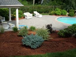 Landscape Mulch | Design And Ideas Of House Backyards Chic Backyard Mulch Patio Rehabitual Homes Bliss 114 Fniture Capvating Landscaping Ideas For Front Yard And Aint No Party Like A Free Mind Your Dirt Pictures Simple Design Decors Switching From To Ground Cover All About The House Time Lapse Bring Out Mulch In Backyard Youtube Landscape Using Country Home Wood Chips Angies List Triyaecom Dogs Various Design Inspiration For New Jbeedesigns Outdoor Best Weed Barrier Borders And Under Playset Playground