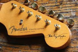 Fender Stevie Ray Vaughan Strat Headstock