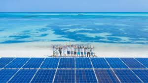 100 Maldives Lux Resort Worlds Largest Floating Solar System Powers Island In The