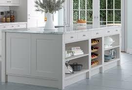 florence modern light grey kitchen stori