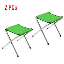 Details About 2 PCs Portable Folding Stool Camping Chair Outdoor Hiking  Fishing Beach Seat Amazoncom Portable Folding Stool Chair Seat For Outdoor Camping Resin 1pc Fishing Pnic Mini Presyo Ng Stainless Steel Walking Stick Collapsible Moon Bbq Travel Tripod Cane Ipree Hiking Bbq Beach Chendz Racks Wooden Stair Household 4step Step Seats Ladder Staircase Lifex Armchair Grn Mazar