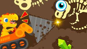 100 Play Monster Truck Games Dinosaur Digger 3 Gameplay Fun Amazing Dino
