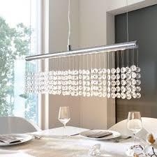 pendelleuchte esszimmer deckenleuchte kristall esszimmer