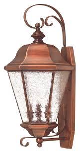 copper outdoor light fixtures lighting designs inside wall lights