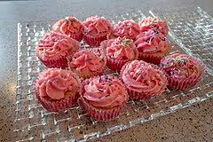 Roda Kakor Cupcakes Alternative Names Fairy Cake