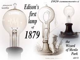 photos when was the lightbulb invented by edison