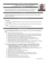 National Sales Director Resume