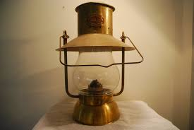 Aladdin Caboose Wall Lamp by Scott Lamp Company California Vigilant Kerosene Lamp