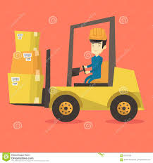 Warehouse Worker Moving Load By Forklift Truck. Stock Vector ... Moving Truck Clip Art Free Clipart Download Hs5087 Danger Mine Site Look Out For Trucks Metal Non Set Vector Isolated Black Icon Taxi Stock Royalty Bright Screen Design Two Men And A Rewind 925 Image Movers Waving Photo Trial Bigstock Vintage Images Alamy Shield Removal Photos Tank Over White Background Colorful Erics Delivery Service Reviews Facebook Bing M O V E R