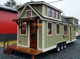 Rustic Farmhouse Style Luxury Large Tiny House On Wheels 1