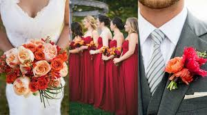 Fall Wedding Color Palettes 2015