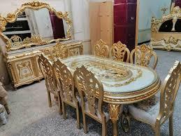 www lexusmoebel de barock esszimmer möbel versac edel rokoko