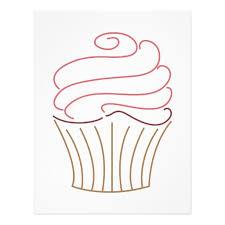 Cupcake Outline 8276