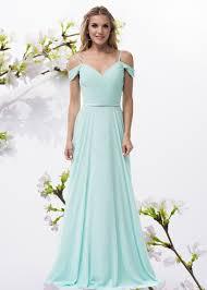 off the shoulders long chiffon bridesmaid dress bc tr26336