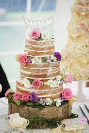 Naked Cakes Victoria Sponges And Plain Filled With Cream Jams Then Decorated Flowers Fruit Look Perfect Placed On Simple Glass