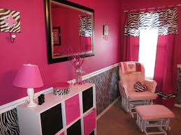 Mias Pink Zebra Room I Wanted An Over The Top