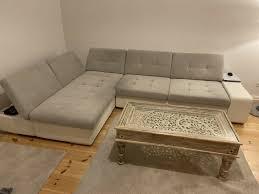 sofa eckcouch wohnzimmer big sofa weiß