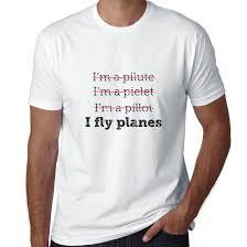 i u0027m a pilot funny i fly planes graphic men u0027s t shirt walmart com