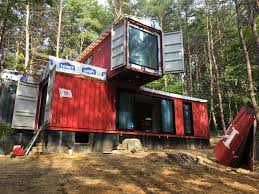 100 Cabins Made From Shipping Containers Steve Stephens Containers Converted Into Hocking