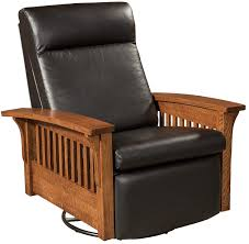 Hoosier Glider Swivel Recliner | Hoosier Solid Wood Mission ... Amish Luxury Mission Rocking Chair Stickley Oak Classics Chapel Street Slat Back Rocker Leather And Ottoman Style Ding American Fniture Design Woodworking Project Paper Plan Glider Relax Mabel Countryside Pottery Barn Kids Comfort Swivel Recling Nursing Grey Simply Royal Dermrw Buckeye Rockers Gliders Solid Wood With Venetian Worldwide Morrisville Dark Arm Victorian Press Carved Oversized