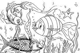 Koi Fish Coloring Pages Kids KidsFull Size Image