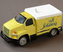 2004 Schwan's Truck Ornament Ice Cream Frozen Food Delivery Xmas ... Schwans First Edition 1950 Replica Truck Cookie Jar 1734275770 Delivery 124 Scale Gmc Topkick Promo Dg Production The Schwans Legacy Home Service Commits To 600 Propanepowered Trucks From Truck Robbed Driver Found Unconscious What Ive Learned The Most Recent Brand Evolution Offers Delicious And Convient Foods Right To Your Door Announces Faulkton Oakes Depot Closures Dakotafire Fileschwans Freschetta Pizza Navistar Htsjpg Wikimedia Commons Peanut Butter Crunch Sundaes Helper Utah Rural Town Center Food 4k 003 Stock Video