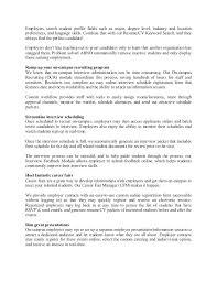 Customer Service Cv Profile