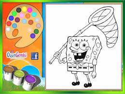 Spongebob Color Book Game Online