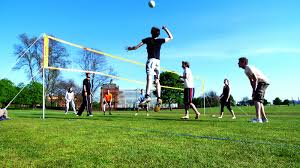 Play Hours Of Volleyball In The Yard With The Guys. They Did This ... Grass Court Cstruction Outdoor Voeyball Systems Image On Remarkable Backyard Serious Net System Youtube How To Construct A Indoor Beach Blog Leagues Tournaments Vs Sand Sports Imports In Central Park Baden Champions Set Gold Medal Pro Power Amazing Unique Series And Badminton Dicks