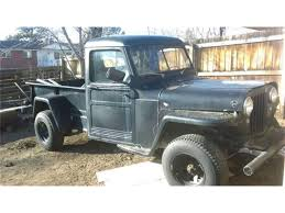 100 Willys Jeep Truck 1952 For Sale ClassicCarscom CC1194658