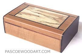Handmade Wood Small Keepsake Box