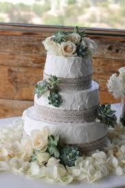 Simple Rustic Wedding Cake