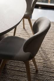 aktiv moebel de polster stuhl designer stoffstuhl grau