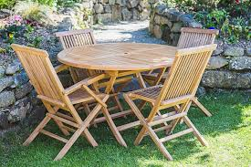Amazing 4 Seater Garden Furniture Set Land Folding Chairs Of Remodel
